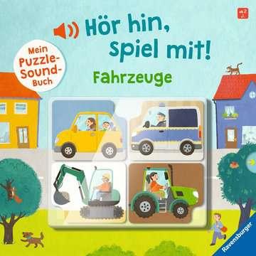 43992 Babybücher und Pappbilderbücher Hör hin, spiel mit! Mein Puzzle-Soundbuch: Fahrzeuge von Ravensburger 1