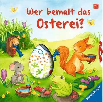 43999 Babybücher und Pappbilderbücher Wer bemalt das Osterei? von Ravensburger 1