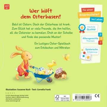 43999 Babybücher und Pappbilderbücher Wer bemalt das Osterei? von Ravensburger 3