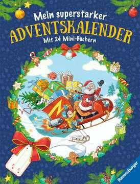 Mein superstarker Adventskalender Kinderbücher;Bilderbücher und Vorlesebücher - Bild 1 - Ravensburger