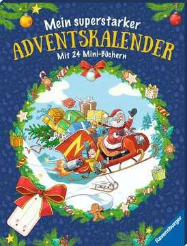 44446 Bilderbücher und Vorlesebücher Mein superstarker Adventskalender von Ravensburger 2