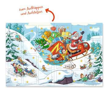 44446 Bilderbücher und Vorlesebücher Mein superstarker Adventskalender von Ravensburger 13