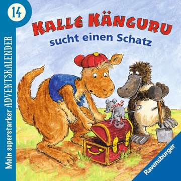 44446 Bilderbücher und Vorlesebücher Mein superstarker Adventskalender von Ravensburger 17