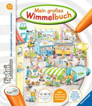44567 tiptoi® tiptoi® Mein großes Wimmelbuch von Ravensburger 1