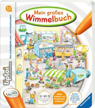 44567 tiptoi® tiptoi® Mein großes Wimmelbuch von Ravensburger 2