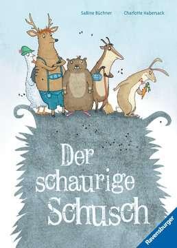 44670 Bilderbücher und Vorlesebücher Der schaurige Schusch von Ravensburger 1