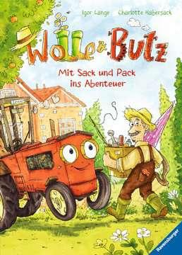 Wolle und Butz - Mit Sack und Pack ins Abenteuer Kinderbücher;Bilderbücher und Vorlesebücher - Bild 1 - Ravensburger