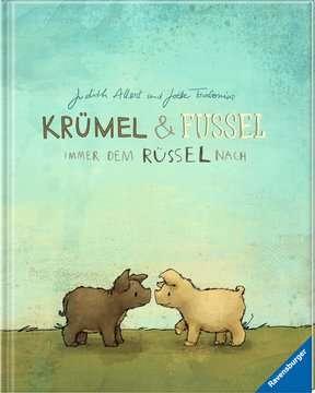 44690 Bilderbücher und Vorlesebücher Krümel und Fussel - Immer dem Rüssel nach von Ravensburger 2