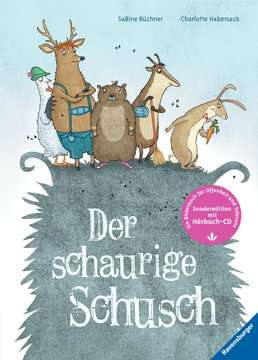44693 Bilderbücher und Vorlesebücher Der schaurige Schusch - mit CD von Ravensburger 1