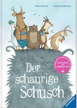 44693 Bilderbücher und Vorlesebücher Der schaurige Schusch - mit CD von Ravensburger 2