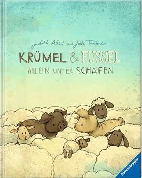 Krümel und Fussel - Allein unter Schafen Kinderbücher;Bilderbücher und Vorlesebücher - Bild 2 - Ravensburger