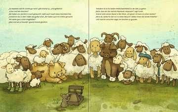 Krümel und Fussel - Allein unter Schafen Kinderbücher;Bilderbücher und Vorlesebücher - Bild 4 - Ravensburger