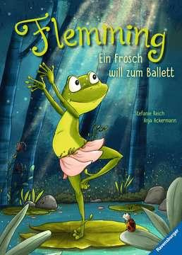 44707 Bilderbücher und Vorlesebücher Flemming – Ein Frosch will zum Ballett von Ravensburger 1