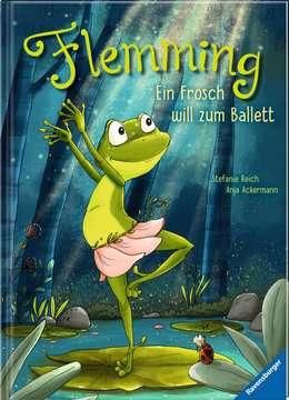 44707 Bilderbücher und Vorlesebücher Flemming – Ein Frosch will zum Ballett von Ravensburger 2