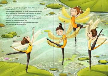 44707 Bilderbücher und Vorlesebücher Flemming – Ein Frosch will zum Ballett von Ravensburger 4