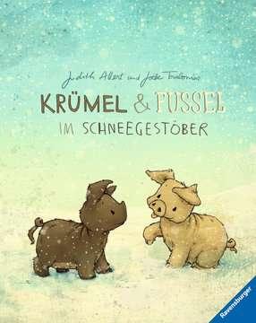 44708 Bilderbücher und Vorlesebücher Krümel und Fussel - Im Schneegestöber von Ravensburger 1