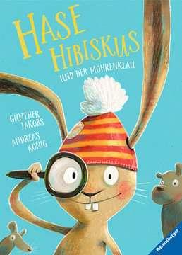 44711 Bücher Hase Hibiskus und der Möhrenklau von Ravensburger 1