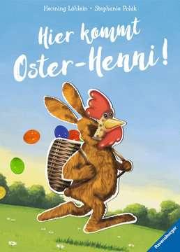 44712 Bücher Hier kommt Oster-Henni! von Ravensburger 1