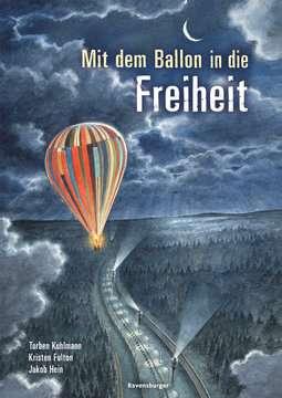 44719 Bilderbücher und Vorlesebücher Mit dem Ballon in die Freiheit von Ravensburger 1