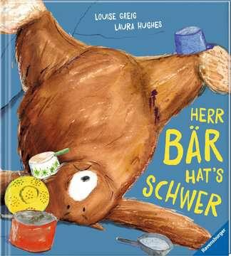 44725 Bilderbücher und Vorlesebücher Herr Bär hat s schwer von Ravensburger 2