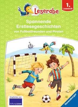 46034 Erstlesebücher Spannende Erstlesegeschichten von Fußballfreunden und Piraten von Ravensburger 1
