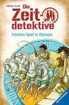 47474 Kinderliteratur Die Zeitdetektive 10: Falsches Spiel in Olympia von Ravensburger 1