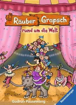 47577 Kinderliteratur Räuber Grapsch rund um die Welt (Band 4) von Ravensburger 1