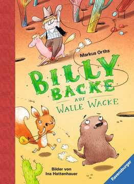 47585 Kinderliteratur Billy Backe aus Walle Wacke von Ravensburger 1