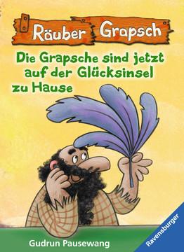 47650 Kinderliteratur Räuber Grapsch: Die Grapsche sind jetzt auf der Glücksinsel zu Hause (Band 16) von Ravensburger 1