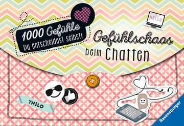 47736 Kinderliteratur 1000 Gefühle: Gefühlschaos beim Chatten von Ravensburger 1