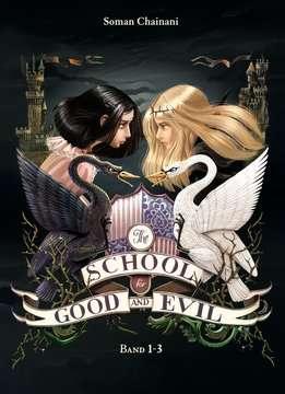 47859 Fantasy und Science-Fiction The School for Good and Evil, Band 1: Es kann nur eine geben / Band 2: Eine Welt ohne Prinzen / Band 3: Und wenn sie nicht gestorben sind von Ravensburger 1