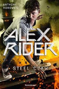 47866 Abenteuerbücher Alex Rider, Band 10: Steel Claw von Ravensburger 1