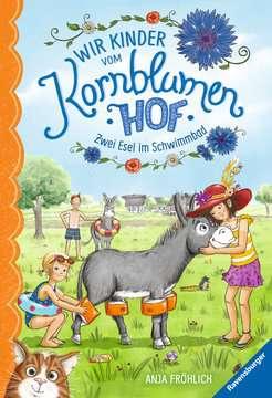 Wir Kinder vom Kornblumenhof, Band 2: Zwei Esel im Schwimmbad Kinderbücher;Kinderliteratur - Bild 1 - Ravensburger
