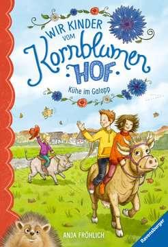 47970 Kinderliteratur Wir Kinder vom Kornblumenhof, Band 3: Kühe im Galopp von Ravensburger 1