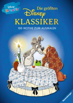 Disney kreativ: Die größten Disney Klassiker -  100 Motive zum Ausmalen Kinderbücher;Malbücher und Bastelbücher - Bild 1 - Ravensburger