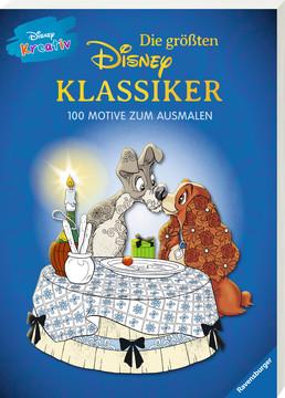 Disney kreativ: Die größten Disney Klassiker -  100 Motive zum Ausmalen Kinderbücher;Malbücher und Bastelbücher - Bild 2 - Ravensburger