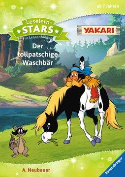 Leselernstars Yakari: Der tollpatschige Waschbär Kinderbücher;Erstlesebücher - Bild 1 - Ravensburger