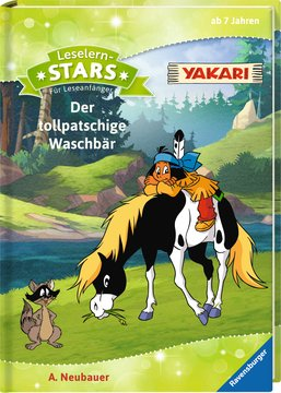 Leselernstars Yakari: Der tollpatschige Waschbär Kinderbücher;Erstlesebücher - Bild 2 - Ravensburger