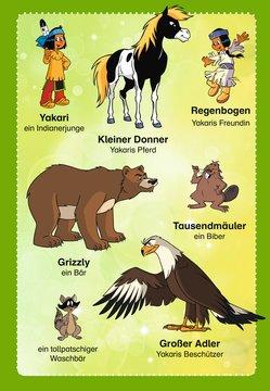 Leselernstars Yakari: Der tollpatschige Waschbär Kinderbücher;Erstlesebücher - Bild 4 - Ravensburger