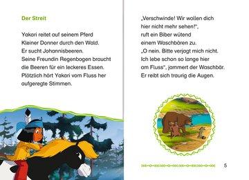 Leselernstars Yakari: Der tollpatschige Waschbär Kinderbücher;Erstlesebücher - Bild 6 - Ravensburger