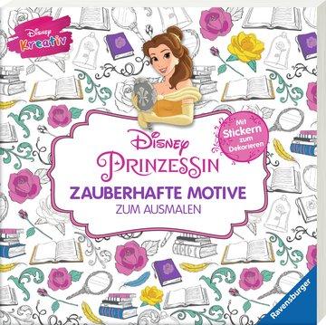 Disney kreativ: Disney Prinzessin - Zauberhafte Motive zum Ausmalen Kinderbücher;Malbücher und Bastelbücher - Bild 2 - Ravensburger