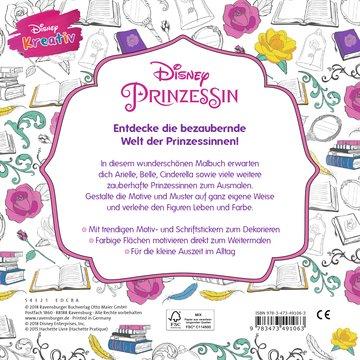 Disney kreativ: Disney Prinzessin - Zauberhafte Motive zum Ausmalen Kinderbücher;Malbücher und Bastelbücher - Bild 3 - Ravensburger