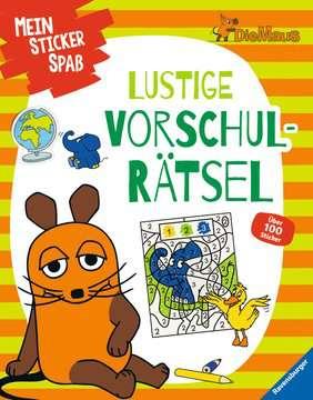 49109 Lernbücher und Rätselbücher Mein Sticker Spaß Die Maus: Lustige Vorschulrätsel von Ravensburger 1