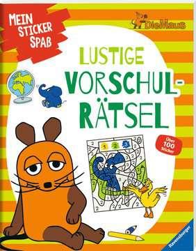 49109 Lernbücher und Rätselbücher Mein Sticker Spaß Die Maus: Lustige Vorschulrätsel von Ravensburger 2