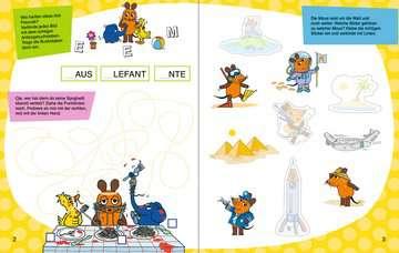49109 Lernbücher und Rätselbücher Mein Sticker Spaß Die Maus: Lustige Vorschulrätsel von Ravensburger 4