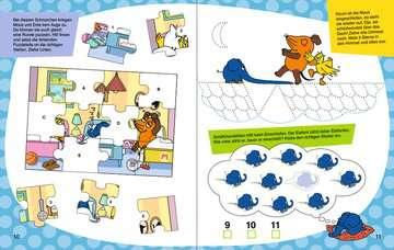 49109 Lernbücher und Rätselbücher Mein Sticker Spaß Die Maus: Lustige Vorschulrätsel von Ravensburger 5