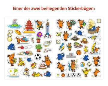 49109 Lernbücher und Rätselbücher Mein Sticker Spaß Die Maus: Lustige Vorschulrätsel von Ravensburger 6