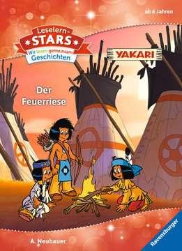49111 Erstlesebücher Leselernstars Wir lesen gemeinsam Geschichten: Yakari Der Feuerriese von Ravensburger 1