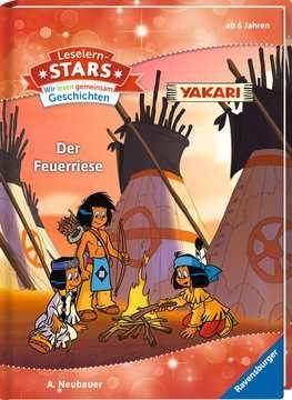 49111 Erstlesebücher Leselernstars Wir lesen gemeinsam Geschichten: Yakari Der Feuerriese von Ravensburger 2