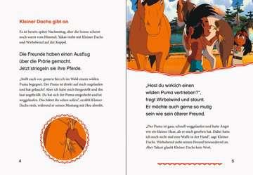 49111 Erstlesebücher Leselernstars Wir lesen gemeinsam Geschichten: Yakari Der Feuerriese von Ravensburger 4
